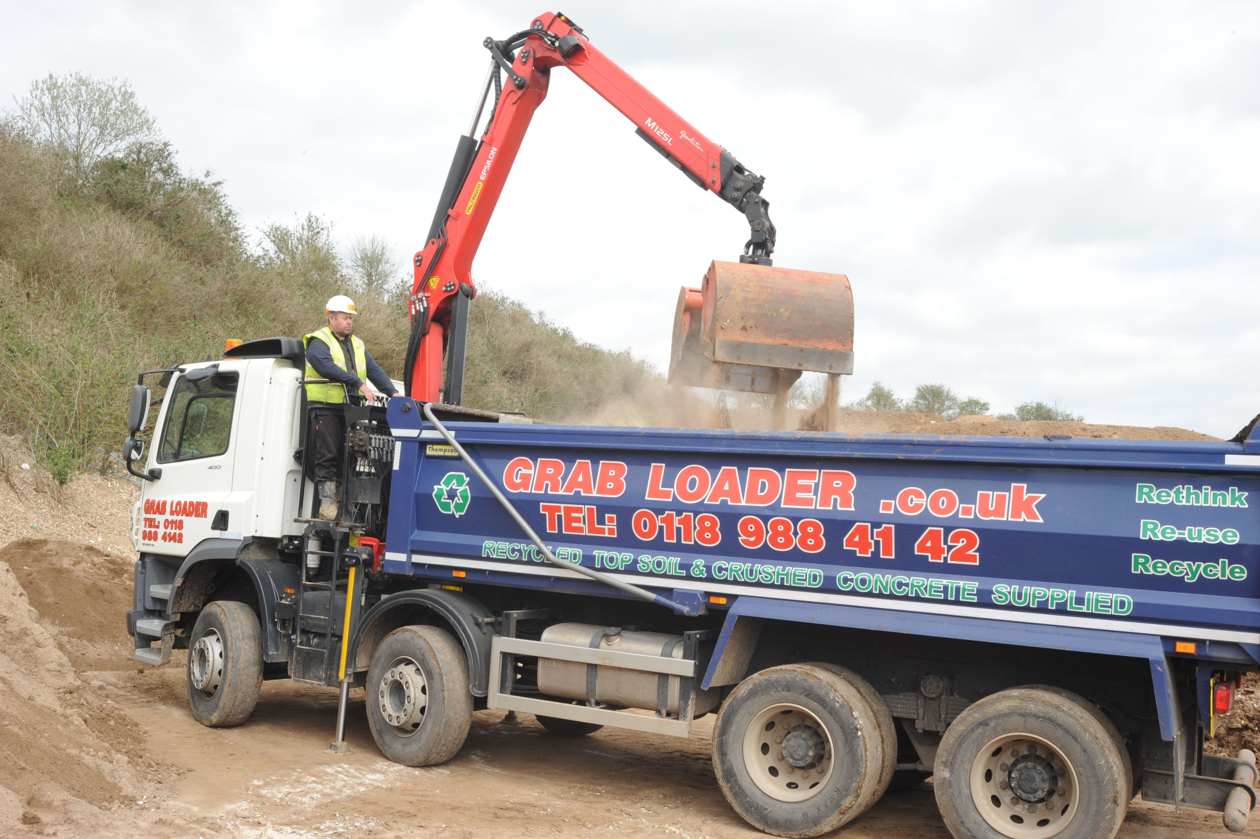 Grab Hire Our Lorry Drop